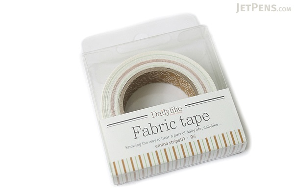 Dailylike Fabric Tape - Emma Stripe 01 - 04