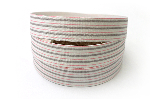 Dailylike Fabric Tape - Emma Stripe 01 - 05 - DAILYLIKE DFTS12