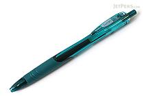 Zebra Surari Emulsion Ink Pen - 0.7 mm - Turquoise Blue Body - Black Ink - ZEBRA BN11-TB