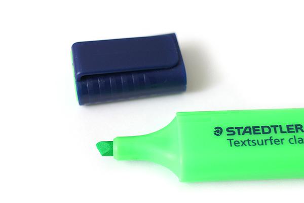 Staedtler Textsurfer Classic Highlighter Pen - Green - STAEDTLER 364 A6-5