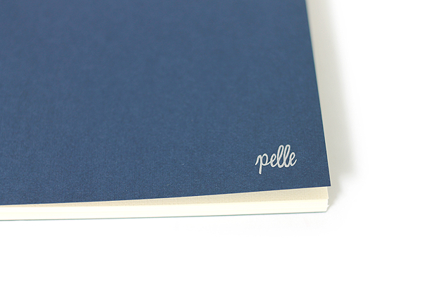 "Pelle Linen Paper Notebook Insert - Large (4.3"" X 8.3"") - Lined - 64 Pages - PELLE LN L L"