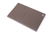 "Pelle Linen Paper Notebook Insert - Medium (4.3"" X 6.8"") - Plain - 64 Pages - PELLE LN M P"