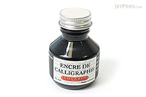 J. Herbin Black Calligraphy Ink - for Dip Pen - 50 ml Bottle - J. HERBIN H114/09