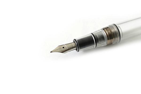 Stipula Passaporto Fountain Pen - Double Broad Nib - Clear Body - STIPULA ST48733