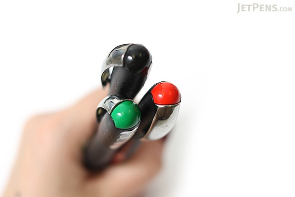 Stabilo Bl@ck Rollerball Pen - 0.5 mm - Red Ink - STABILO 1018-40