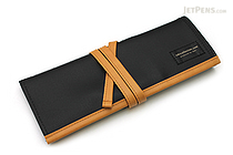 Saki P-666 Roll Pen Case - Medium - Black - SAKI P-666-BK
