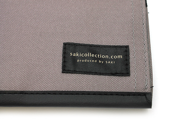Saki P-666 Roll Pen Case - Medium - Gray - SAKI P-666-GR
