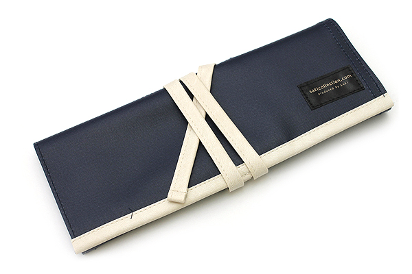 Saki P-666 Roll Pen Case - Medium - Dark Blue - SAKI P-666-DBL