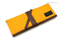 Saki P-666 Roll Pen Case - Medium - Orange - SAKI P-666-OR