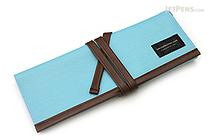 Saki P-666 Roll Pen Case - Medium - Light Blue - SAKI P-666-LBL