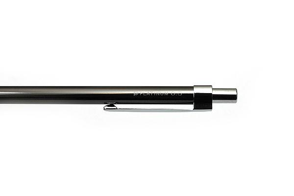 Platinum Mini Mechanical Pencil - 0.5 mm - Shadow Metal - PLATINUM MTE-300Z-98