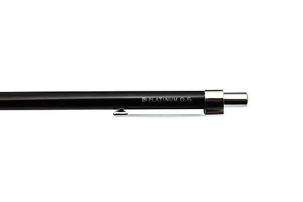 Platinum Mini Mechanical Pencil - 0.5 mm - Shine Black - PLATINUM MTE-300Z-1