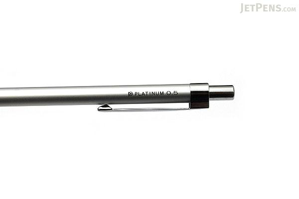 Platinum Mini Mechanical Pencil - 0.5 mm - Silver - PLATINUM MTE-300Z-9