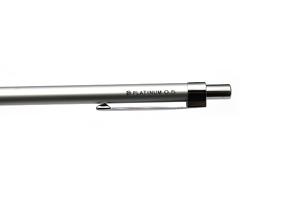 Platinum Mini Mechanical Pencil - 0.5 mm - Silver