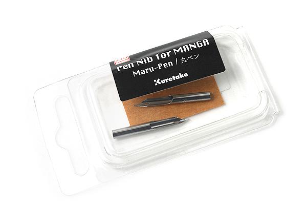 Kuretake Comic Pen Nib - Maru (Mapping) Model - Pack of 2 - KURETAKE CNPN01-R