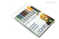 Copic Ciao Marker - 8 Muted Color Set - COPIC IMNGAMUT