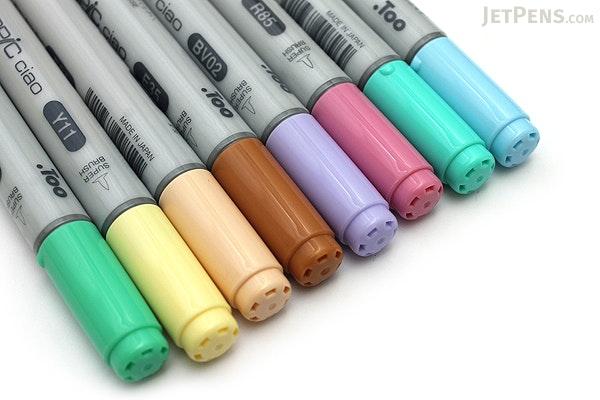 Copic Ciao Marker - 8 Pastel Color Set - COPIC IMNGAPAS