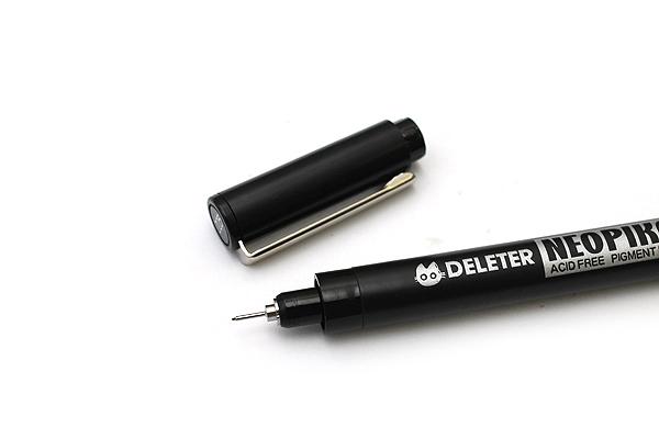 Deleter Neopiko Line 2 Pen - 0.05 mm - Black Ink - DELETER 3118011