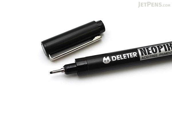Deleter Neopiko Line 2 Pen - 0.8 mm - Black Ink - DELETER 3118016