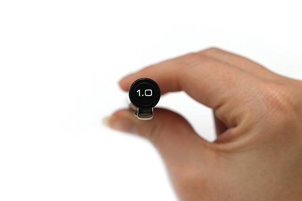 Deleter Neopiko Line 2 Pen - 1.0 mm - Black Ink - DELETER 3118017