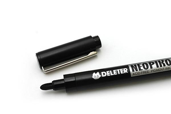 Deleter Neopiko Line 2 Pen - 2.0 mm - Black Ink - DELETER 3118018