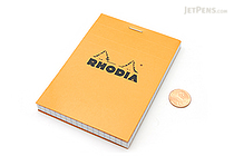 "Rhodia Pad No. 12 - 3.3"" x 4.7"" - Graph - Orange - RHODIA 12200"