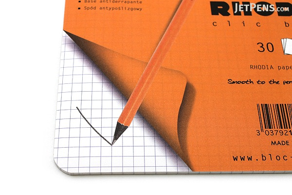 "Rhodia Clic Bloc Mouse Pad/Notepad - 7.5"" X 9"" - 30 Sheets - Bundle of 5 - RHODIA 19410 BUNDLE"