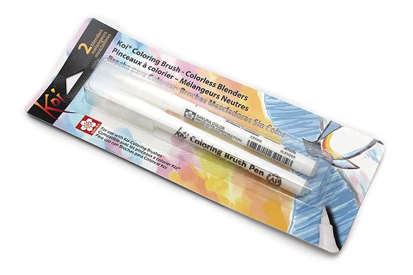 Sakura Koi Coloring Brush Pen - Blender - Pack of 2 - SAKURA XBR-BLEND