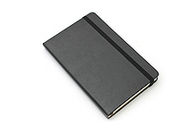 "Moleskine Classic Pocket Notebook - 3.5"" x 5.5"" - Plain - Black - MOLESKINE 978-88-8370-103-0"