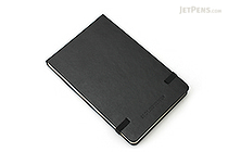 "Moleskine Reporter Pocket Notebook - Plain  - 3.5"" x 5.5"" - Black - MOLESKINE 978-88-8370-550-2"