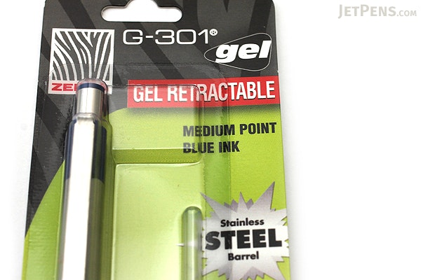 Zebra G-301 Gel Pen - 0.7 mm - Blue Grip - Blue Ink - ZEBRA 41321