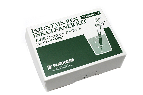 Platinum Fountain Pen Ink Cleaner Kit - European Model - PLATINUM ICL-1200E