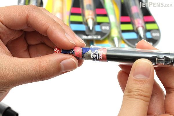 Pilot Dr. Grip Play Border Shaker Mechanical Pencil - 0.5 mm - Apple Red Body - PILOT HDGCL-50R-PAR