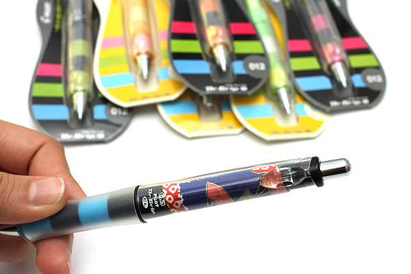 Pilot Dr. Grip Play Border Shaker Mechanical Pencil - 0.5 mm - Navy Blue Body - PILOT HDGCL-50R-PNL