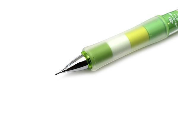 Pilot Dr. Grip Play Border Shaker Mechanical Pencil - 0.5 mm - Grass Green Body - PILOT HDGCL-50R-PGG