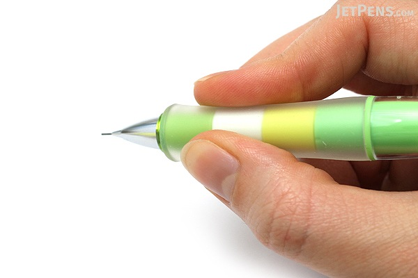 Pilot Dr. Grip Play Border Shaker Mechanical Pencil - 0.5 mm - Grass Green Body - PILOT HDGCL-50R-PGG