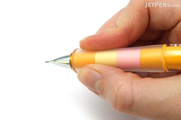 Pilot Dr. Grip Play Border Shaker Mechanical Pencil - 0.5 mm - Honey Orange Body - PILOT HDGCL-50R-PHO