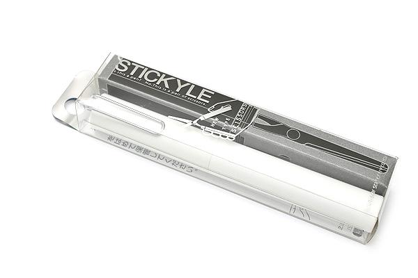 Sun-Star Stickyle Pen-Style Scissors - White - SUN-STAR S3712443