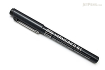 Kuretake Zig Cartoonist Mangaka Outline Pen - 01 - Black - KURETAKE CNM-01-010