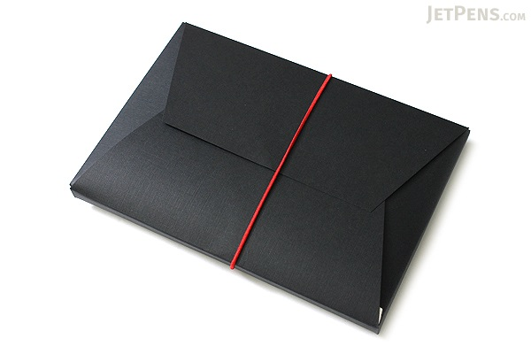 "Pelle Leather Journal - Black - Medium + 1 Plain Linen Paper Notebook (4.3"" X 6.8"") Insert - 64 Pages - PELLE LJ M B"