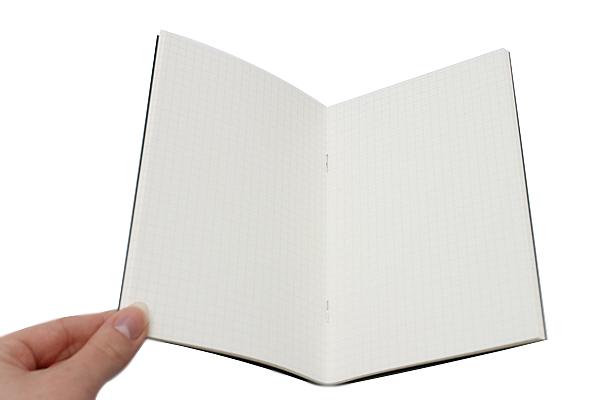 "Pelle Linen Paper Notebook Insert - Medium (4.3"" X 6.8"") - Grid - 64 Pages - PELLE LN M G"