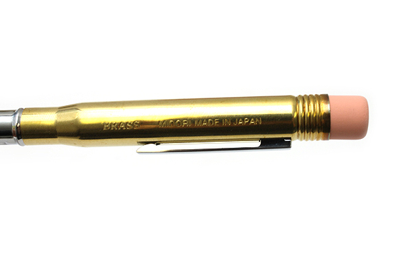 Midori Brass Bullet Pencil Holder - Gold - MIDORI 38061-006