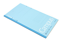 Kokuyo Campus Notebook - Slim B5 - 6 mm Rule - Blue - KOKUYO NO-3PBN-B