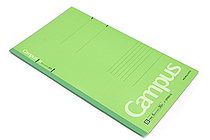 Kokuyo Campus Notebook - Slim B5 - 6 mm Rule - Green - KOKUYO NO-3PBN-G