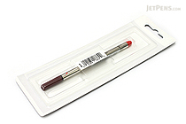 Lamy M63 Rollerball Pen Refill - Medium Point - Red - LAMY LM63RD