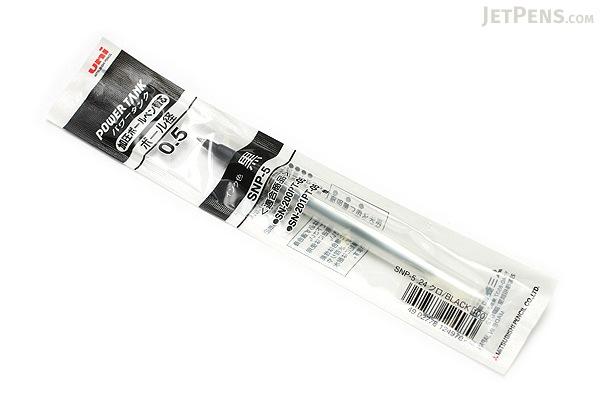 Uni Power Tank Ballpoint Pen Refill - 0.5 mm - Black Ink - UNI SNP5.24