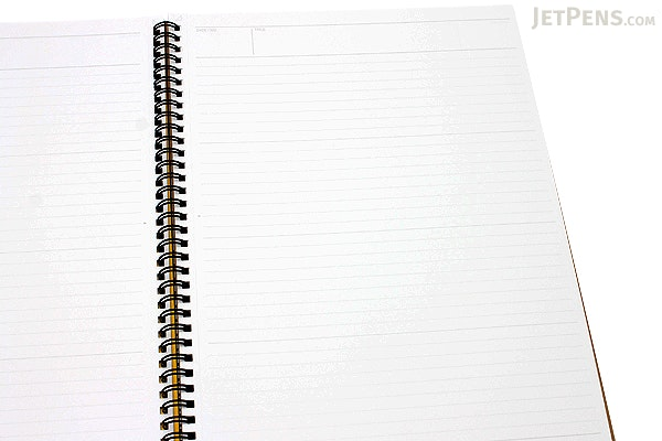 "Maruman Mnemosyne Special Memo Notepad - A4 (8.27"" X 11.69"") - 7 mm Rule - 70 Sheets - Bundle of 5 - MARUMAN N199 BUNDLE"