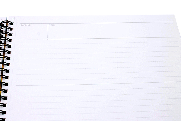 "Maruman Mnemosyne Special Memo Notepad - A4 (8.27"" X 11.69"") - 7 mm Rule - 70 Sheets - Bundle of 5 - MARUMAN N199 BUNDLE"