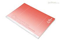 "Kokuyo Campus High Grade CYO-BO Paper Notebook - Semi B5 (9.9"" X 7"") - 29 Lines X 50 Sheets - Red - KOKUYO NO-GC5A"