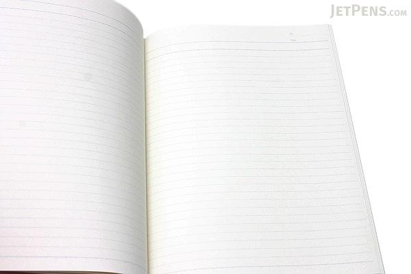 "Kokuyo Campus High Grade CYO-BO Paper Notebook - Semi B5 (9.9"" X 7"") - 29 Lines X 50 Sheets - Red - Bundle of 5 - KOKUYO NO-GC5A BUNDLE"